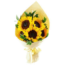 sunflower-bunch